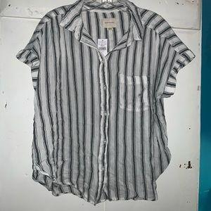 Button down t-shirt